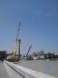 демонтировали памятник
