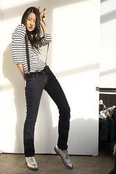 ношение джинсов
