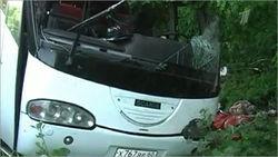 Под Киевом перевернулся автобус с пассажирами, - последствия
