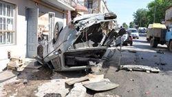 Дорожные войны: в Тернопольской области Mercedes влетел в толпу людей