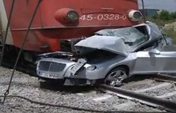 Бизнесмен Нае Никулае погиб в столкновении Bentley с поездом