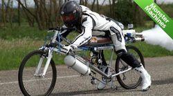 ТОП-видео YouTube: усовершенствованный велосипед разогнался до 263 км/ч