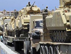 Египет собирается милитаризировать Синай, Израиль пока думает