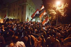 В антипрезидентской демонстрации в Египте пострадали сотни человек
