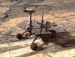 Марсоход Opportunity начал поиски следов жизни на Марсе