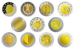 История курса евро