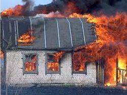В Рязанской области горел частный дом, есть жертвы