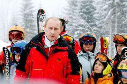 Президент России Владимир Путин стал главным героем учебного фильма