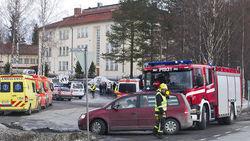 В финской школе неизвестный открыл огонь в аудитории