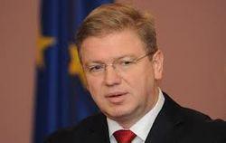 Еврокомиссар Фюле верит – ситуация с Тимошенко прояснится очень скоро