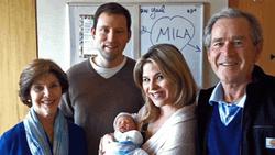Фото внучки экс-президента США Джорджа Буша уже появились в Сети