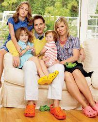 Питер Фачинелли с семьей