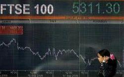Фондовые биржи Европы погрузились в минус из-за КНР