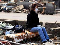 разрушенные регионы Японии