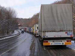 На белорусско-польской границе бунтуют водители фур