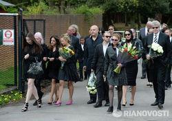 Участники похорон Бориса Березовского
