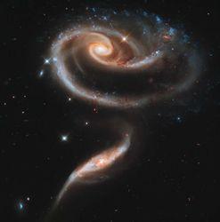 Современный вид галактики приобрели «всего» 6 миллиардов лет назад