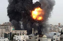 Израильтяне разбомбили офис российского телеканала в секторе Газа