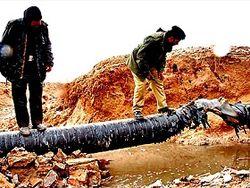 подрыв газопровода