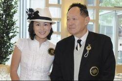 Сесил Чао Шецзюн и его дочь ДжиДжи