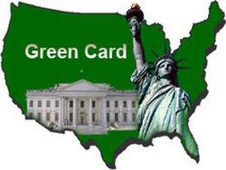 В США впервые отменена выдача  Green Card