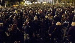 Шествие безработных в Риме- 100 тысяч человек вышли на улицу