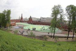 Вертолетная площадка в Кремле