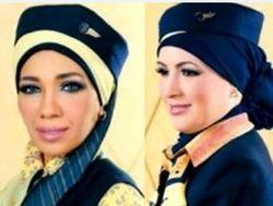 Хиджаб - новая униформа стюардесс Egypt Air. Выглядит эротично