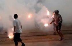 Задержаны подростки, забросавшие горсовет Львова дымовыми шашками