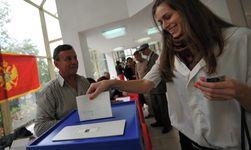 Активность избирателей на выборах президента Черногории невысокая