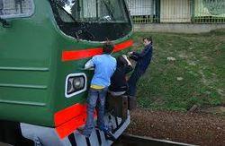 Сцепка поезда