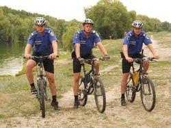 Милиция на велосипедах
