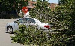 Буря в США