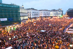 Испанцы снова бастуют – закрыты школы и университеты