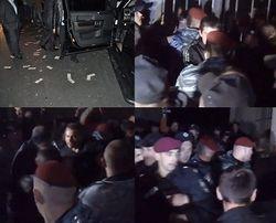 Ивано-Франковск: доллары на асфальте и борьба милиции с толпой