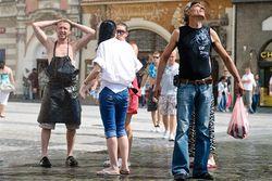 жара в Чехии