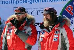 Рекордная полярная экспедиция Конюхова и Симонова