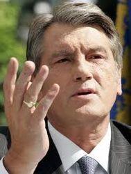 Виктор Ющенко не признает легитимность роспуска «Нашей Украины»