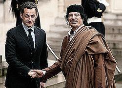 Каддафи оплатил предвыборную кампанию Саркози?