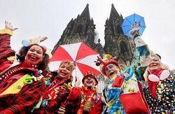 карнавал в Дюсельдорфе
