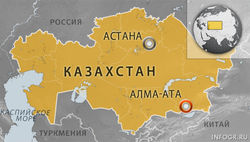 Упавший в Атырауской области Казахстана беспилотник – российский