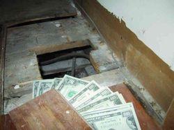 Заначка от жены в подвале