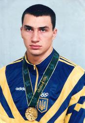 Владимир Кличко - олимпийской чемпион Атланты