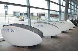 Инвесторам: В креслах-коконах аэропорта Абу-Даби можно отдохнуть в тишине