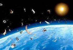 Российский спутник «Блиц» столкнулся с космическим мусором