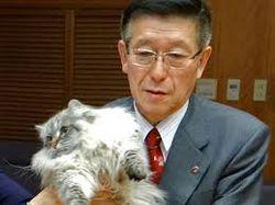 Японскому губернатору понравился кот от Путина. Его назвали Мир
