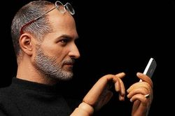 кукла Стива Джобса