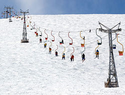 На зимних курортах Кабардино-Балкарии наблюдается аншлаг