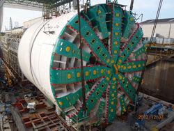 В США создали крупнейший в мире тоннелепроходческий комплекс Bertha