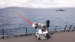 Лазерная установка морского базирования